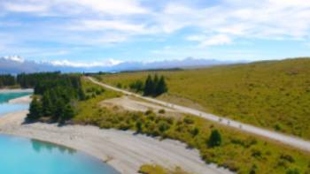 Nothing beats cycling beneath the mighty Aoraki/Mt Cook | Daniel Thour