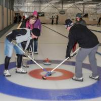 Curling, Naseby   Bob Lahti