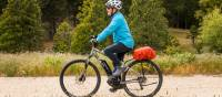Our electric bikes are a fantastic way to experience the trails |  <i>Lachlan Gardiner</i>