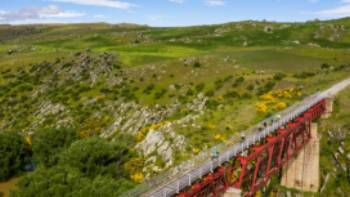 Cycle over the stunning Poolburn Viaduct | Lachlan Gardiner