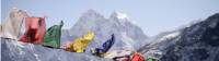 Prayer flags blowing in the Everest breeze |  <i>Charles Duncombe</i>